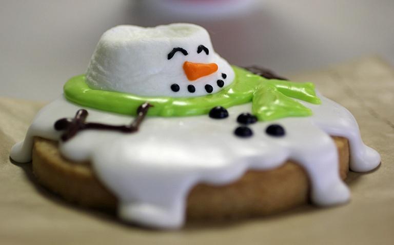 melty snowman