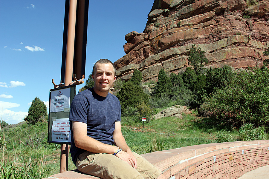 tanner at red rocks