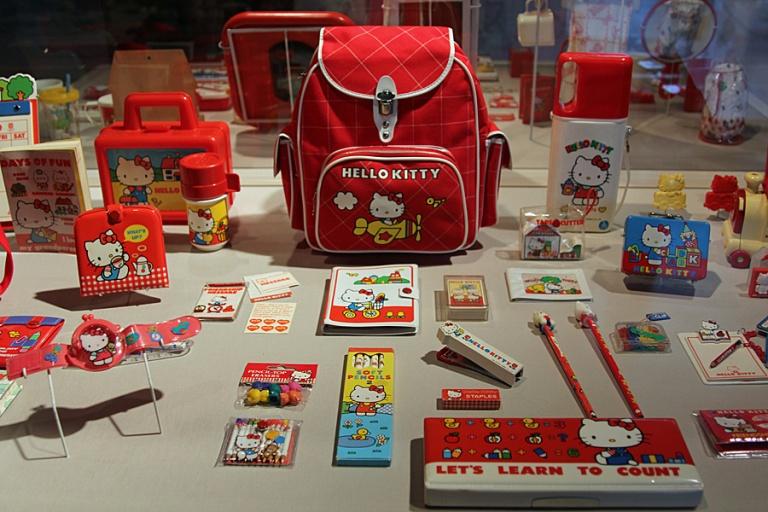 exhibit items