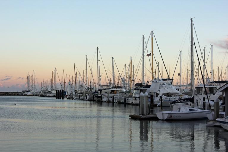 sailboats at sunset3