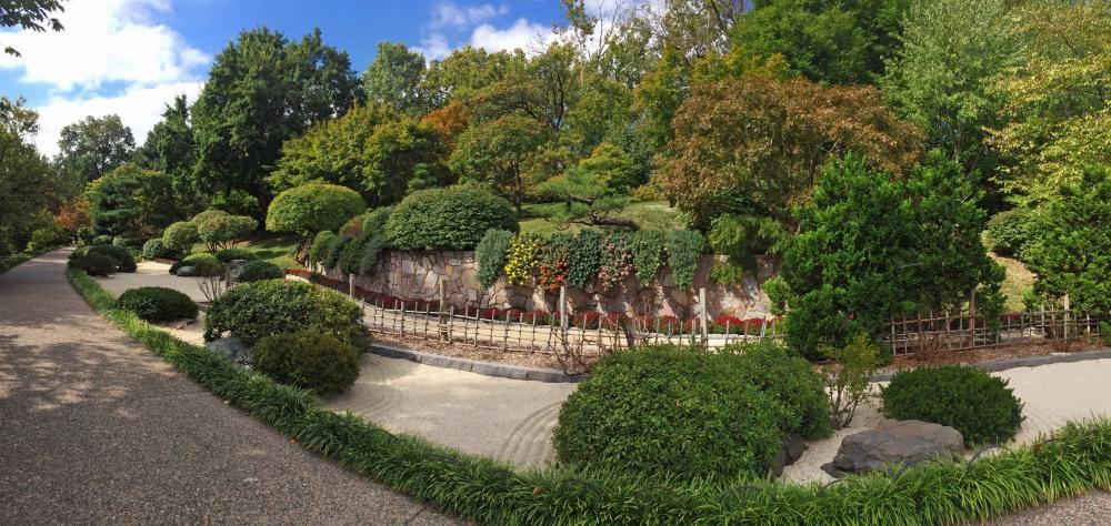garden pano